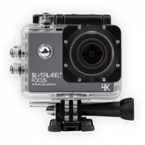 SilverLabel Focus 4k 30 Metres Waterproof Action Camera