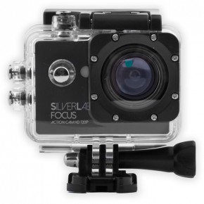 SilverLabel Focus 720p HD 30 Metres Waterproof Action Camera