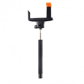 iCANDY Extendable Selfie Pole with Bluetooth Shutter - Black