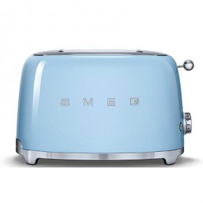 Smeg 50's Style 2 Slice Toaster - Pastel Blue