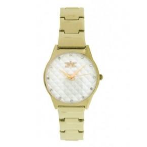 Softech London B482 Gold & White Watch
