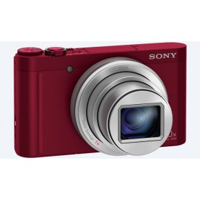 Sony Cyber-shot WX500 Digital Camera - Red