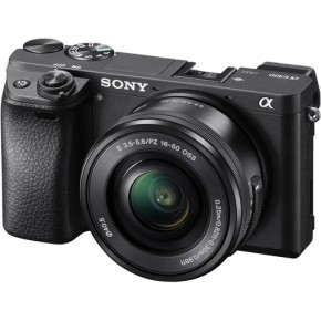 Sony a6300 E-series APS-C Mirrorless Interchangeable-lens Camera & 16-50 Lens