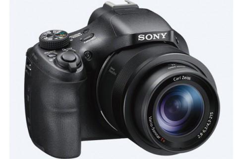 Sony Cyber-shot HX400V Bridge Digital Camera, 32GB Card & Case Bundle - Black