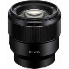 Sony E-Series FE 85mm f1.8 Prime Lens - Black