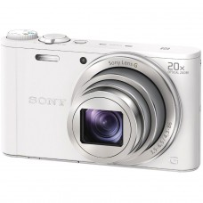 Sony Cyber-shot WX350 Digital Camera - White