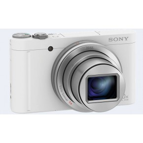 Sony Cyber-shot WX500 Digital Camera - White