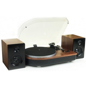 Steepletone Camden 3 speed Record Player with Bluetooth