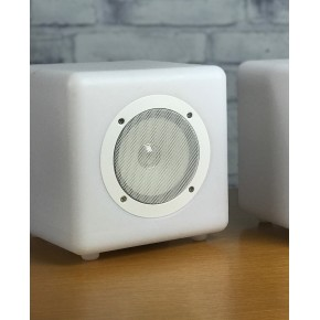 Steepletone Cube Connex 20cm Multi-Inter-Connectable Compact Bluetooth Speaker