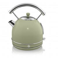 Swan Retro 1.8L Dome Kettle - Green