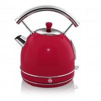 Swan Retro 1.8L Dome Kettle - Red