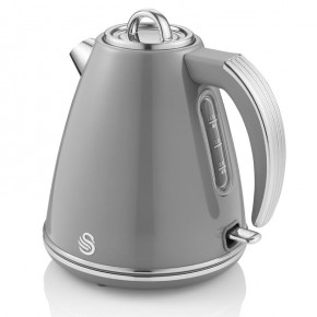 Swan Retro 1.5L Jug Kettle - Grey