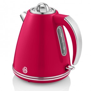 Swan Retro 1.5L Jug Kettle - Red