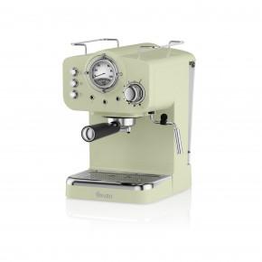 Swan Retro Pump Espresso Coffee Machine - Green