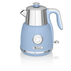 Swan Retro 1.5L Jug Kettle - Blue