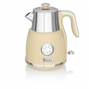 Swan Retro 1.5L Jug Kettle - Cream