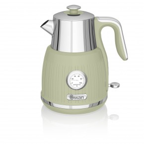 Swan Retro 1.5L Jug Kettle - Green