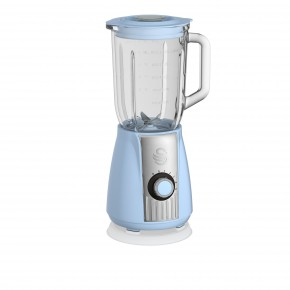Swan Retro 1.5L Stand Blender - Blue