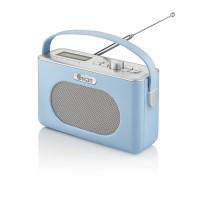 Swan Retro Bluetooth, DAB/FM Radio - Blue