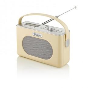 Swan Retro Bluetooth, DAB/FM Radio - Cream
