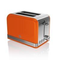 Swan Retro 2 Slice Toaster - Orange