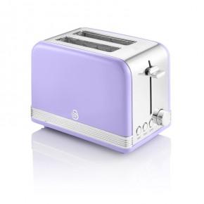 Swan Retro 2 Slice Toaster - Purple