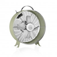 "Swan Retro 8"" Clock Fan - Green"