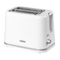 Tower Essentials 2 Slice Toaster - White