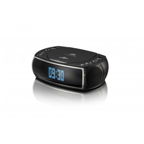 Lava Bedside CD, DAB+ and FM Radio - Black