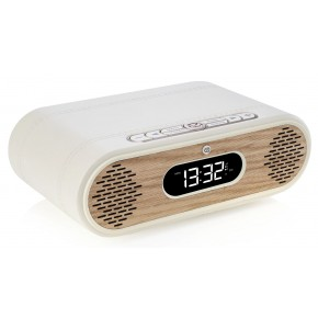 View Quest Rosie Lee Hybrid DAB / DAB+ Digital Radio & Bluetooth Speaker - Cream & Oak
