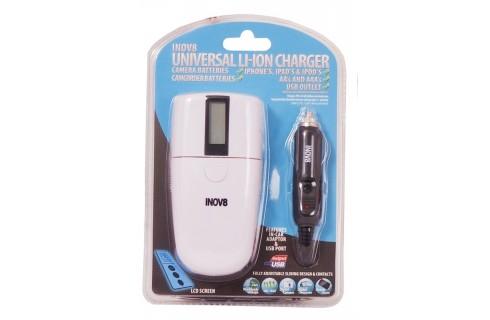 Inov8 Universal Li-Ion Charger with USB Charger