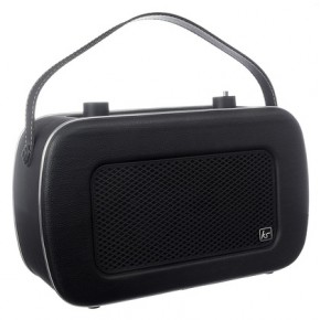 Kitsound Jive Portable DAB/FM Retro Radio - Black
