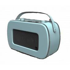 Kitsound Jive Portable DAB/FM Retro Radio - Blue