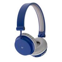 Kitsound Metro Wireless On-ear Headphones - Blue