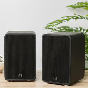 Kitsound Reunion Powered Hi-Fi Speakers - Black