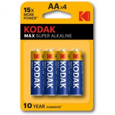Kodak AAA 1.5v Alkaline Battery 4 Pack