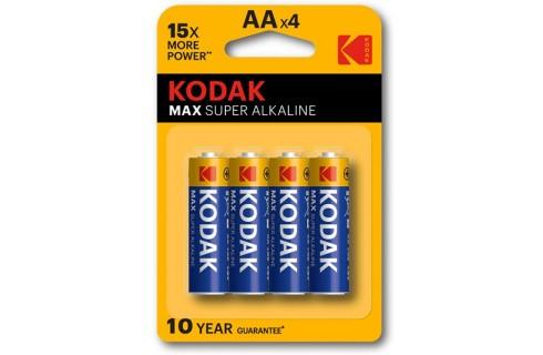 Kodak AAA 1.5v Alkaline Battery 4 Pack