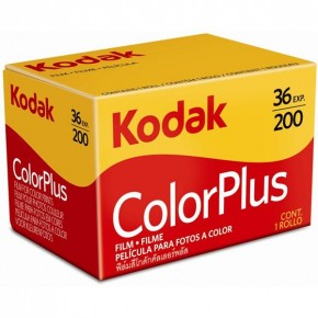 Kodak ColourPlus 200asa 36exp Colour Print Film