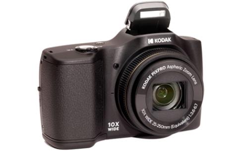 Kodak Pixpro FZ102 Digital Camera, 16gb Card & Case - Black