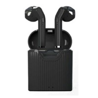 Musthavz True Wireless In-Ear Headphones - Black
